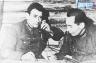 Командир 101-й стрелковой  бригады С.Яковленко и комиссар бригады Н.Алиев.