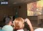24 ноября областная больница в Новом. За ходом  первой в истории области операции по трансплантации почки можно наблюдать на экране  в актовом зале.Сюда пришли студенты медакадемии, хирурги больниц города и области, родные пациентов.