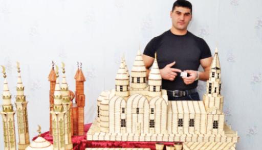 Мечеть из спичек своими руками 52