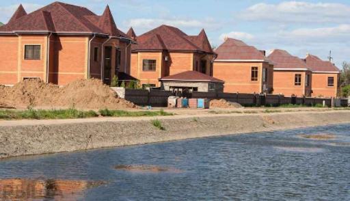 Пригород Астаны находится под угрозой затопления