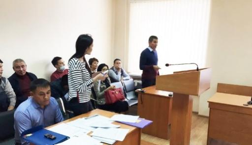 Иск Сапарбаева кактивисту удовлетворён частично