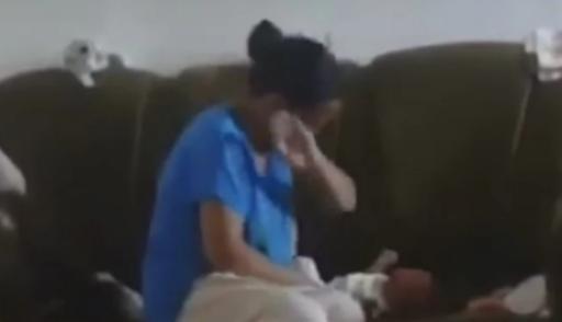 ВМВД Казахстана изучают видео избиения дамой малыша