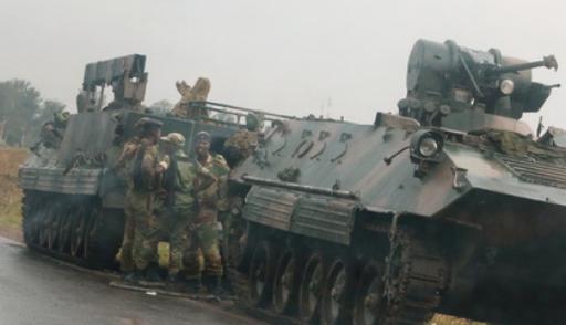 Военные захватили телевидение в Зимбабве