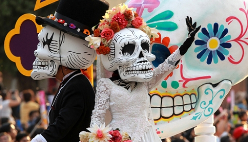 Как в Мексике отметили День мертвых (Фото)
