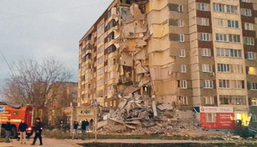 Шесть человек погибли под завалами дома в Ижевске