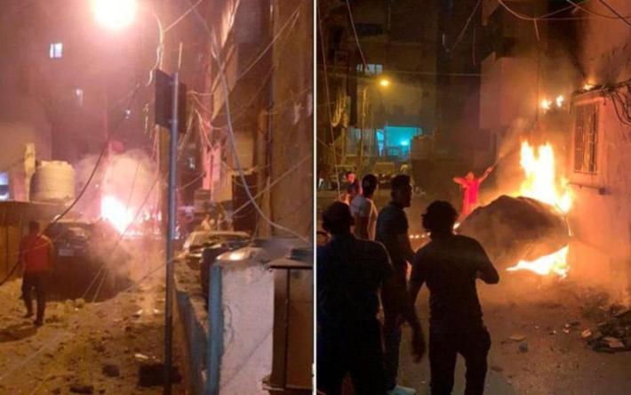 Четверо граждан Бейрута погибли при взрыве бака стопливом
